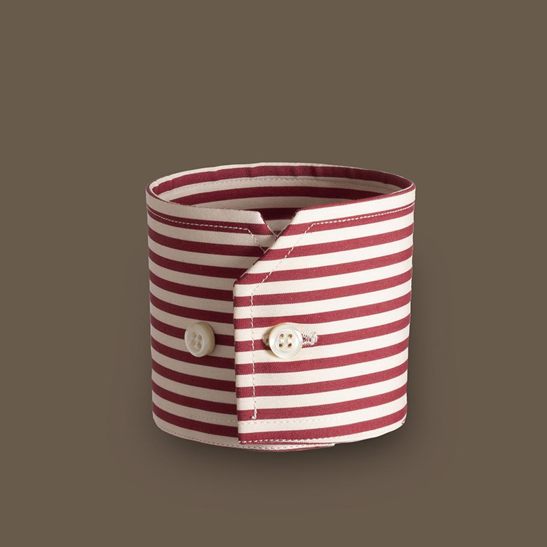 camicia-su-misura-torino-Polsino-smussato front