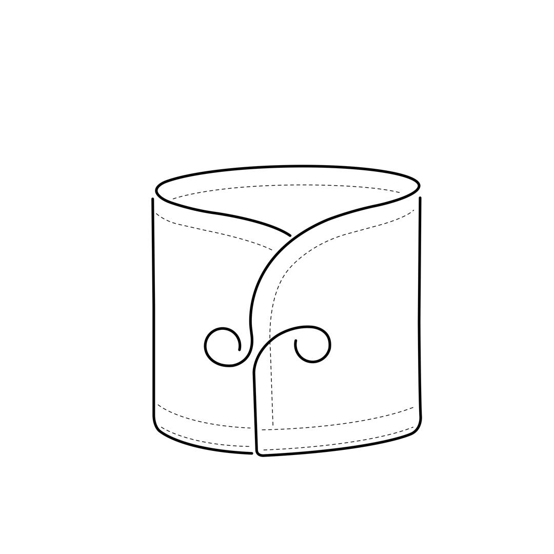 camicia-su-misura-torino-Polsino-stondato_Sketch