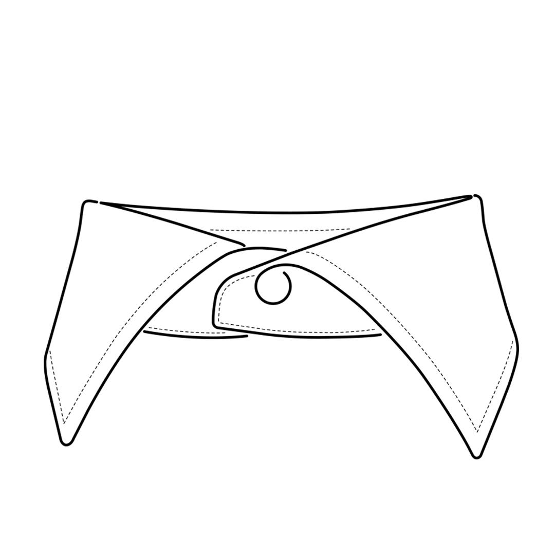 camicia-su-misura-torino-colletto-francese-classico_front_sketch