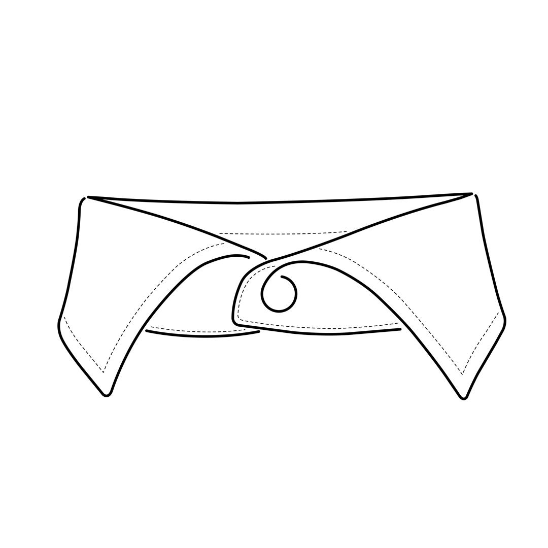 camicia-su-misura-torino-colletto-francese-piccolo_sketch