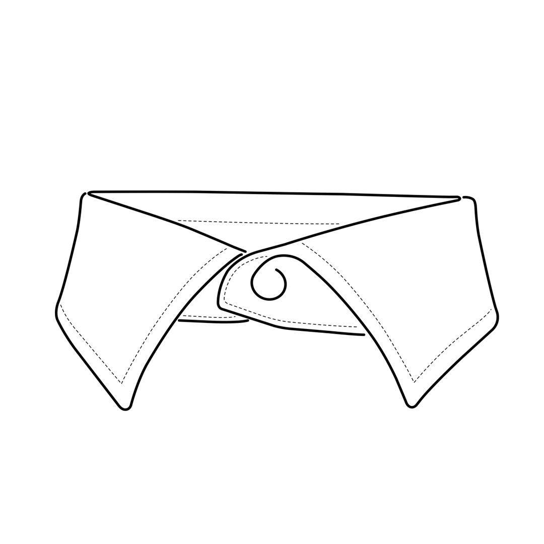 camicia-su-misura-torino-collo-italiano-medio_front_sketch