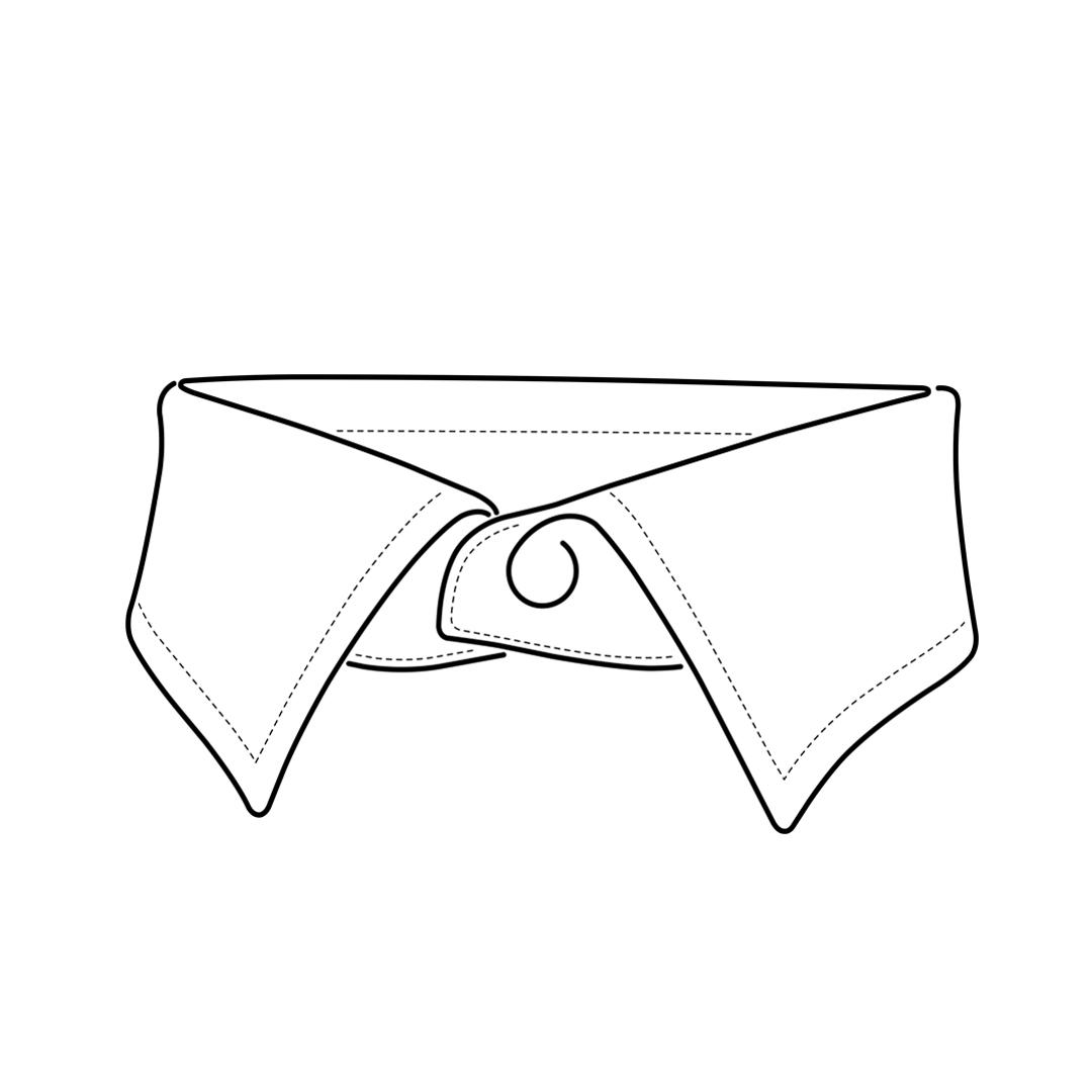 camicia-su-misura-torino-collo-italiano-piccolo_front_sketch